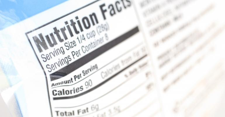 5 minutes: Proposed Nutrition Facts panel put to test