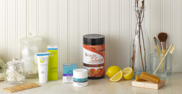 Highlight natural personal care products backed by science