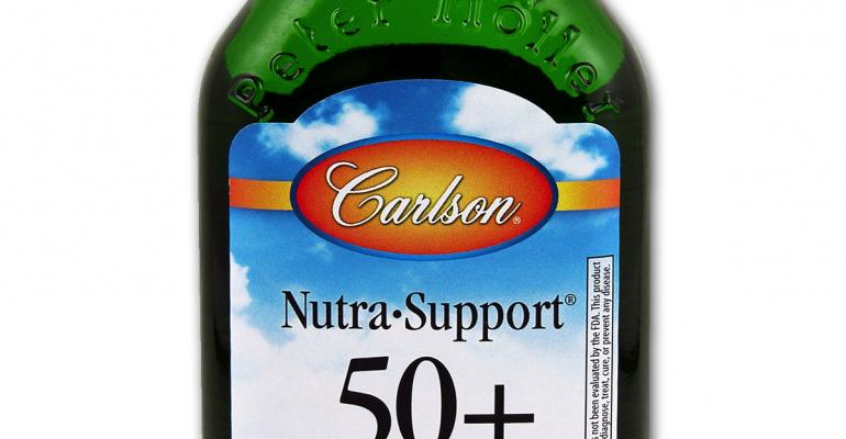 New Carlson Nutra-Support 50+ supports healthy aging