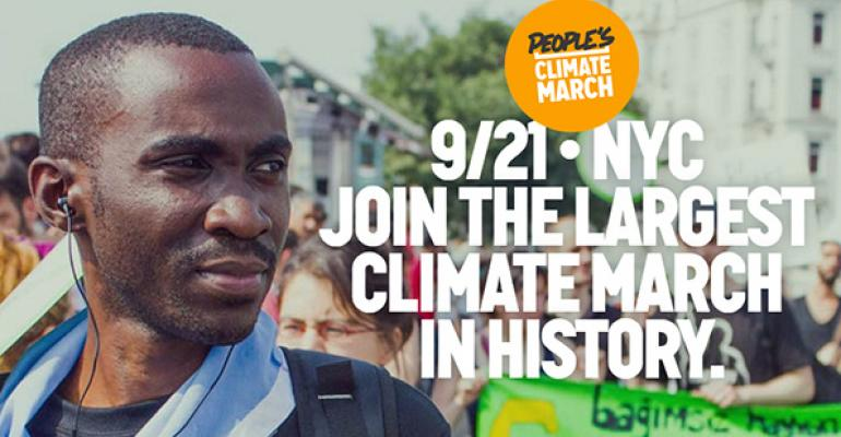 People's Climate March hits New York City Sept. 21