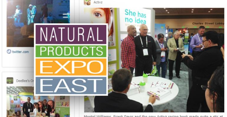 Natural Products Expo East 2014 social feed promo image