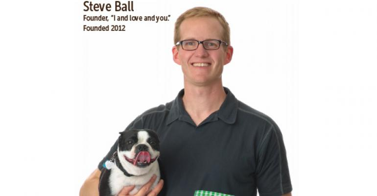 "Entrepreneur Profile: Steve Ball, Founder of ""I and love and you."""
