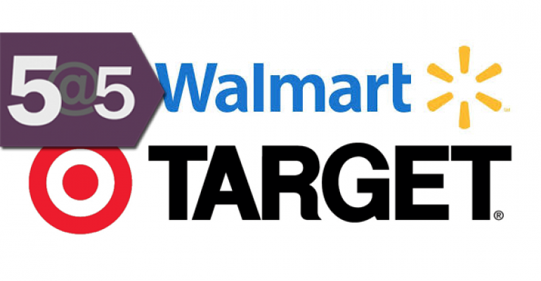 5@5: Walmart and Target take on sustainable personal care