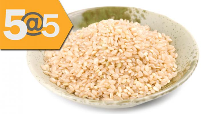 5@5: A natural way to make produce last longer? | Rethinking rice for people with celiac
