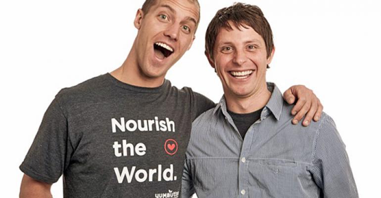 Adrian Reif  Matt DAmour founders of Yumbutter