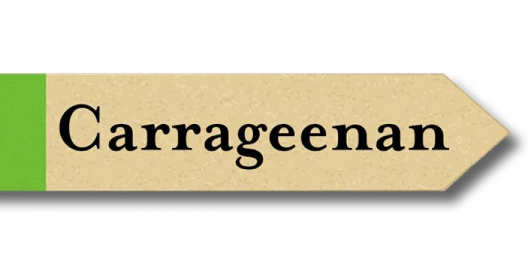 Is carrageenan natural?