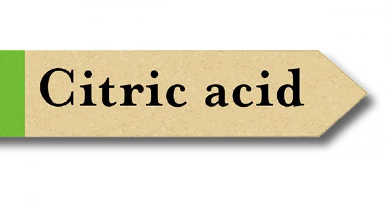 Is citric acid natural?