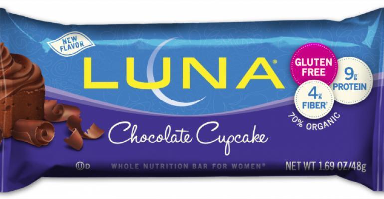 LUNA makes all bars gluten free