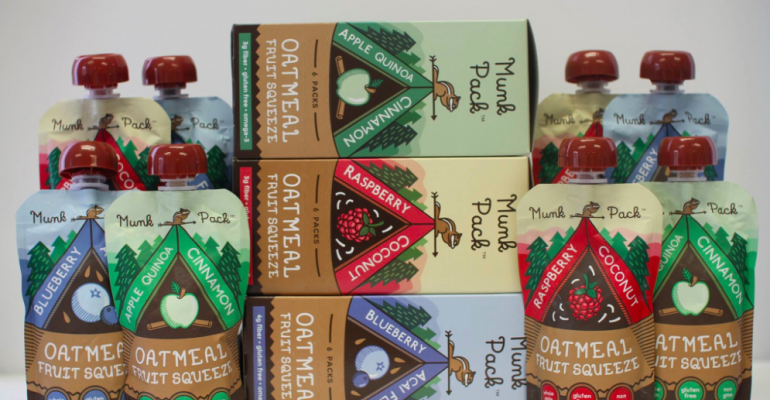 Munk Pack oatmeal fruit squeezes debut