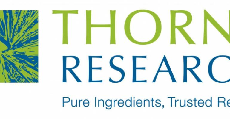 Thorne to supply supplements for Mayo clinical trials