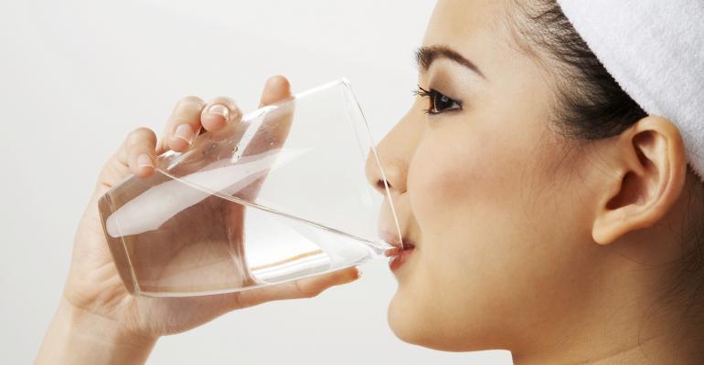Drink up! Survey reveals top health resolution