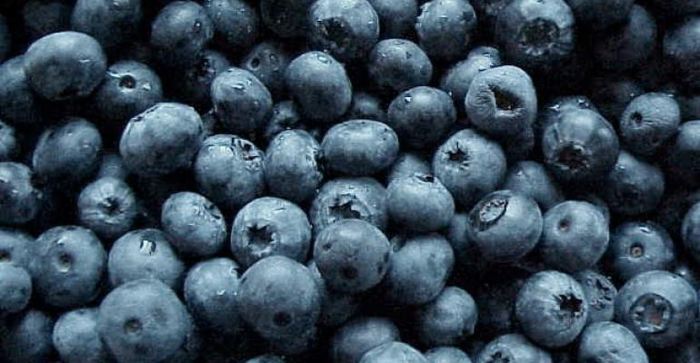 1 cup of blueberries can reduce blood pressure