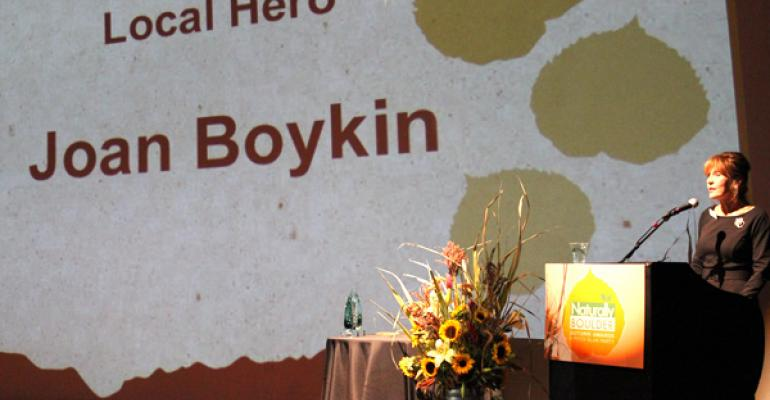 A conversation with Joan Boykin, Naturally Boulder's 2014 lifetime achiever