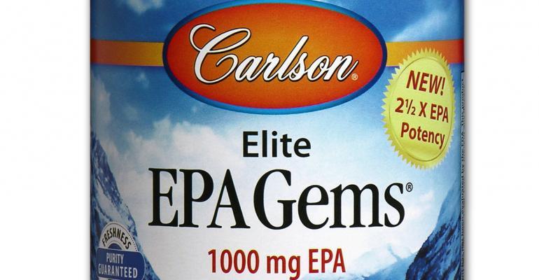 Carlson Laboratories debuts Elite EPA Gems