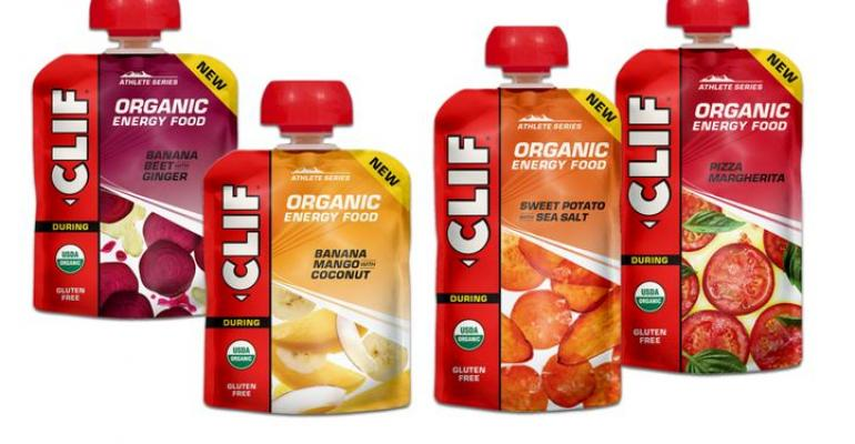 Clif Bar launches Organic Energy Food pouches