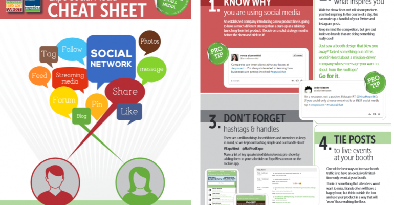 12 tips to extend your reach at Expo West with social media