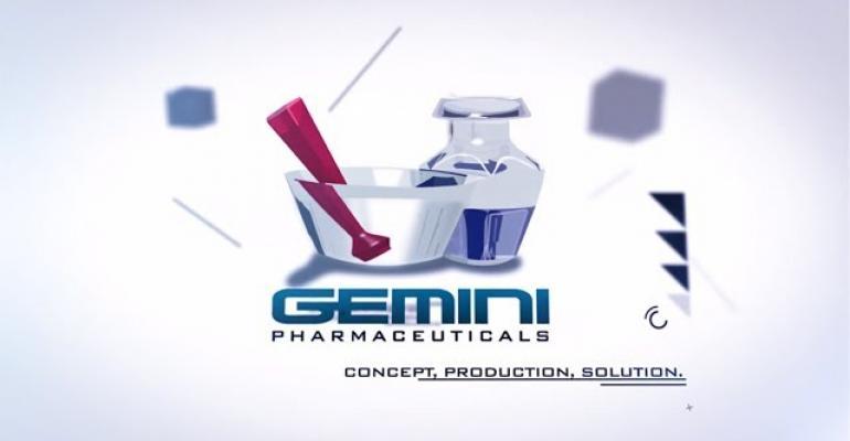 Gemini Pharmaceuticals now certified organic