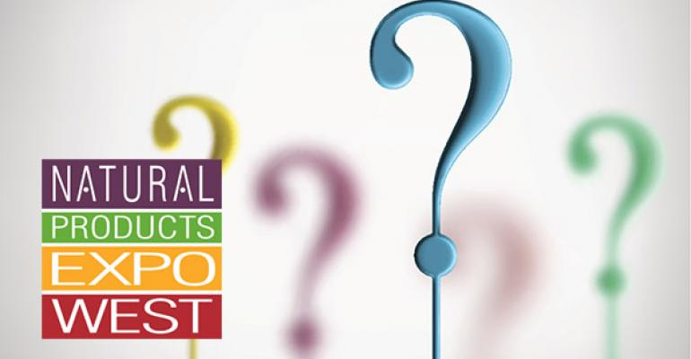 Natural Products Expo West 2015 FAQs