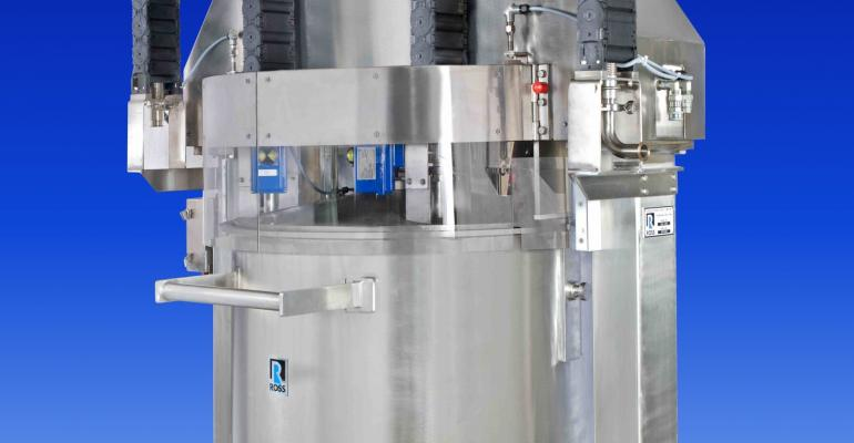 Ross debuts Discharge System with Electronic Pressure Control