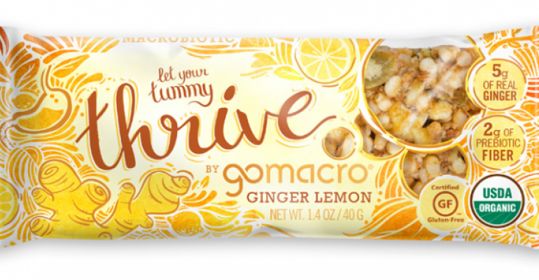 GoMacro unveils Thrive nutrition bars