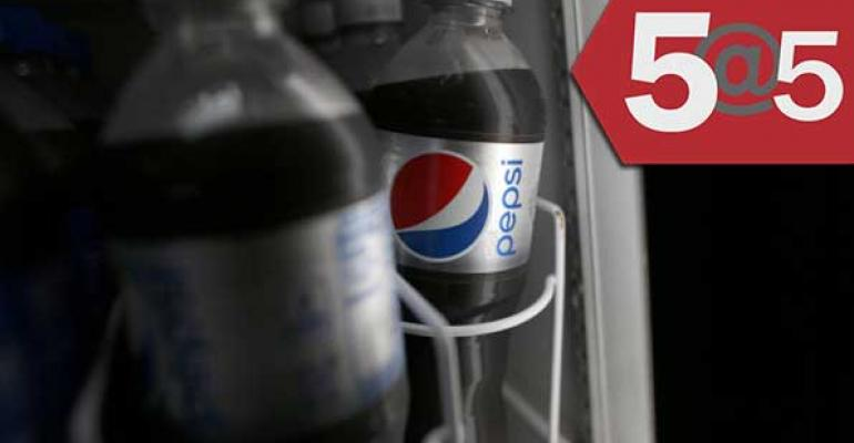5@5: Diet Pepsi ditches aspartame | Instacart steps up price transparency