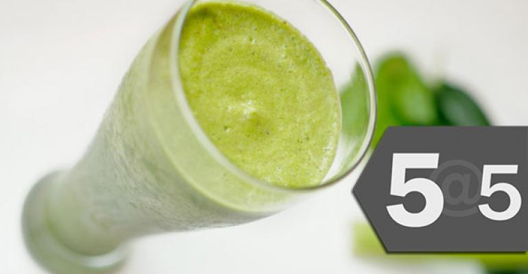 5@5: Evolution Fresh, Dannon launch smoothies at Starbucks | EPA bans pesticides that harm bees