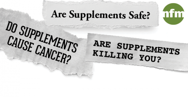 How to answer customer questions about supplements and cancer