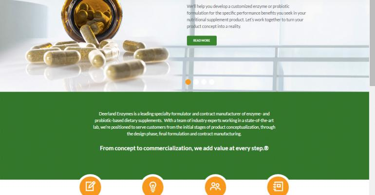 Deerland Enzymes launches redesigned website