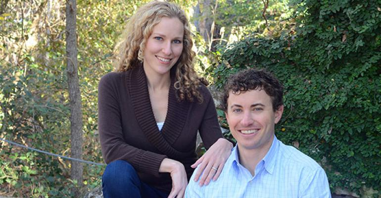 Allison and Adam Grossman Seaweed Bath Co