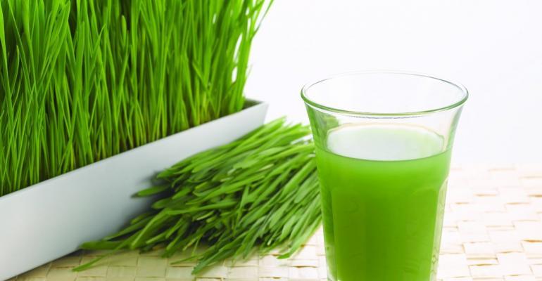 Wheatgrass gaining from greens revolution