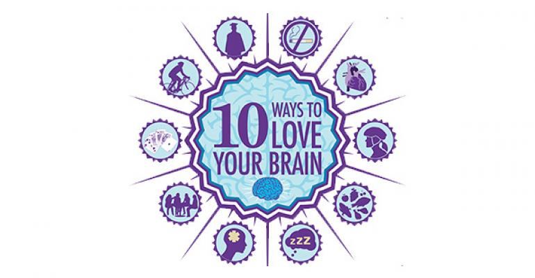 10 ways to love the brain for Alzheimer's and Brain Awareness Month and beyond [infographic]