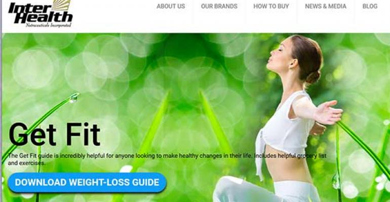 InterHealth Nutraceuticals introduces new consumer website