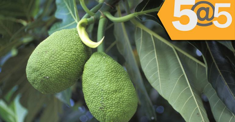 5@5: Food recalls grow at an alarming rate   Breadfruit--a superfood of the future?