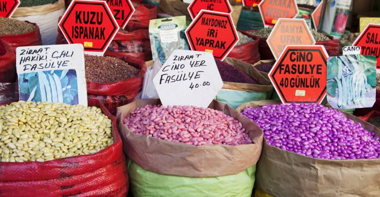 Pulse and grains at Turkeys Grand Bazzar