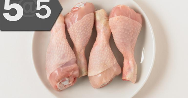 "5@5: Inside Perdue's move to ""no antibiotics ever"" chicken | Fresh & Easy downsizes"