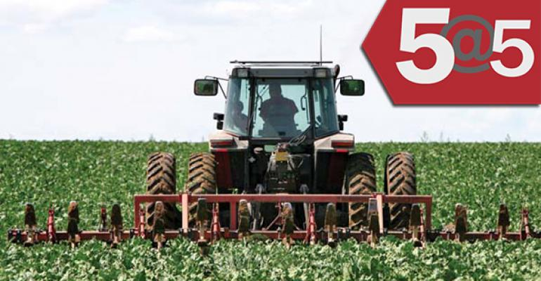 5@5: Germany moves to prohibit GM crops | Center for Food Safety says USDA withheld info on GMOs