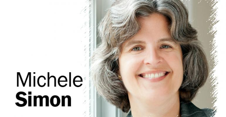 Plant politics: Michele Simon sees a promising future for animal food alternatives
