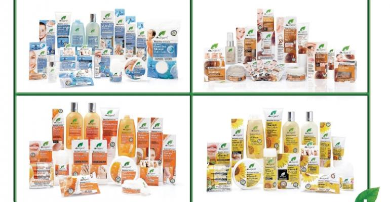 NBTY acquires natural skincare brand Dr. Organic