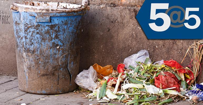5@5: U.S. gov sets goal to reduce food waste | Meijer launches natural food & beverage brand