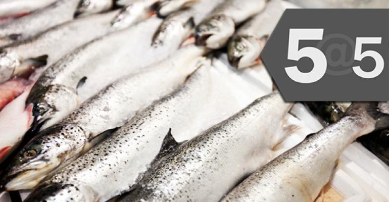 5@5: The feds v. kombucha   IKEA goes sustainable—on seafood