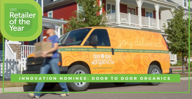 2015 Retailer of the Year nominee Door to Door Organics