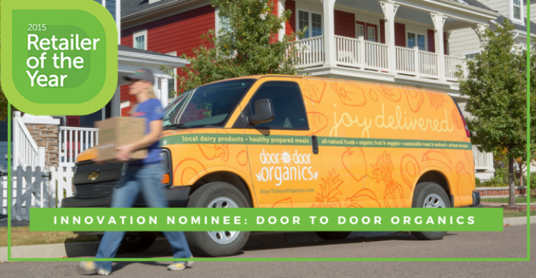 2015 Retailer of the Year nominee Door to Door Organics