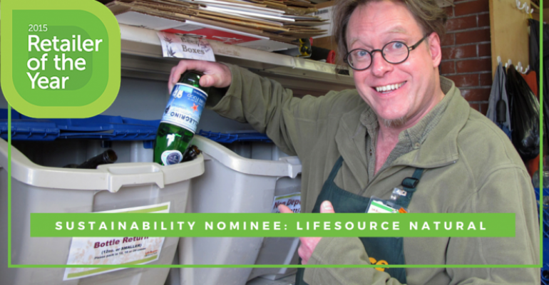 Sustainability engrained at LifeSource Natural Foods