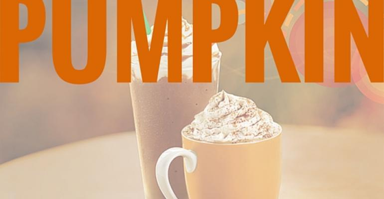 Let the pumpkin-flavored craze begin