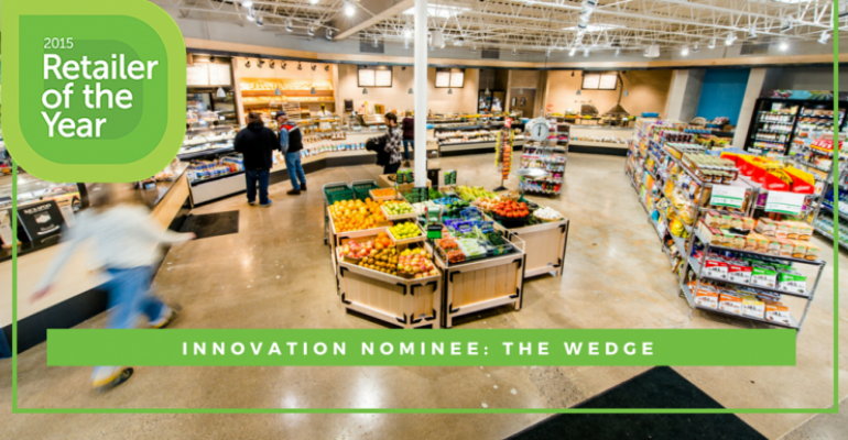 Retailer of the Year nominee The Wedge