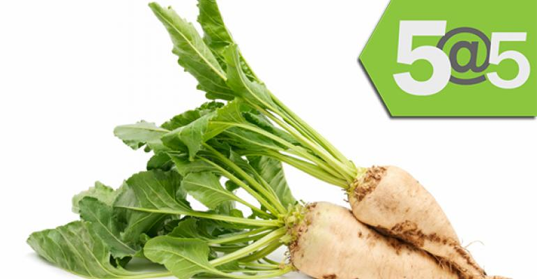 5@5: GMO backlash puts the squeeze on sugar beet growers | Banza raises $1.3M