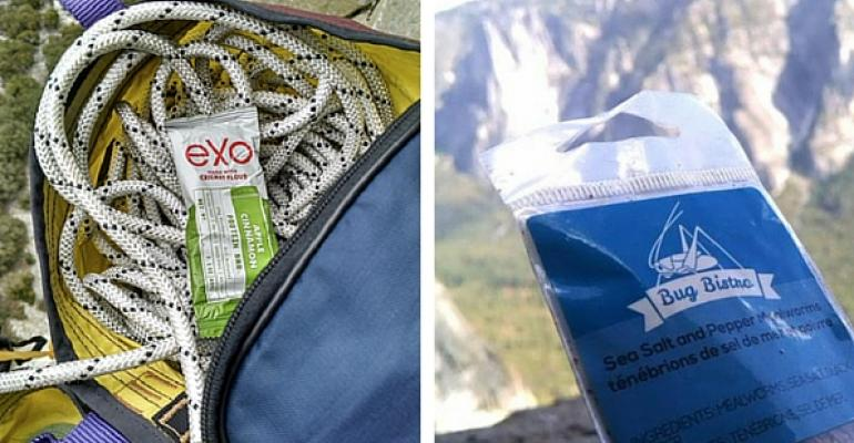 This climber ate only insect protein foods for two weeks