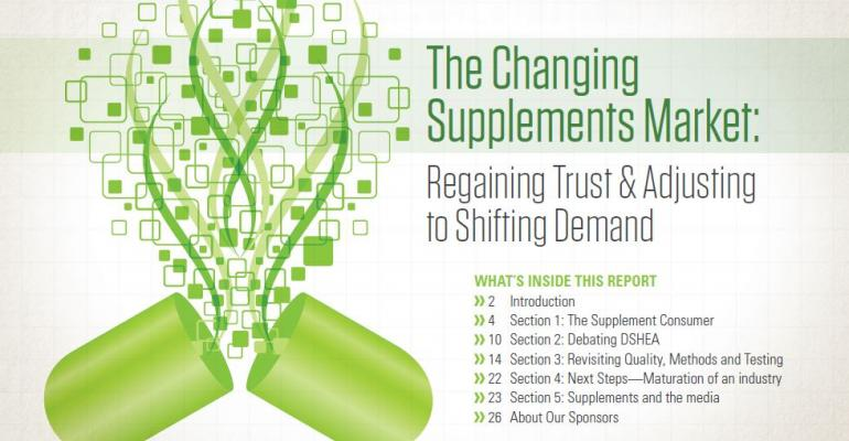 The Changing Supplements Market: Regaining Trust & Adjusting to Shifting Demand