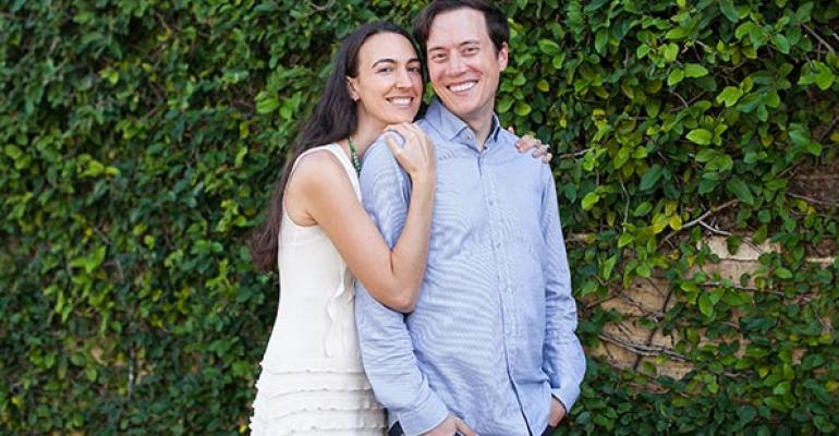Tobias Glienke and Michelle Leutzinger cofounders of Munk Pack