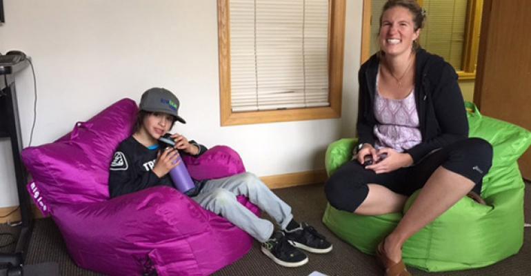 Jenna Fitch interviews Quinn Kingsbury Icebox Water brand ambassador